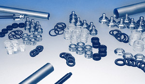 AGS Gas Spring components